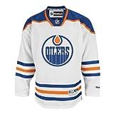 リーボック ジャージ Edmonton Oilers RoadホワイトReebok Premierメンズレプリカジャージ( XL )