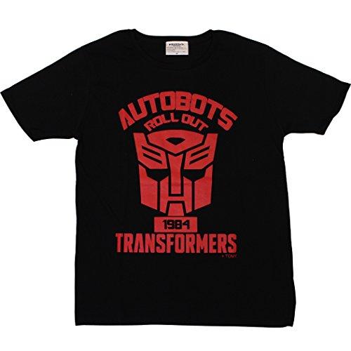 トランスフォーマー【国内公式監修】Tシャツ オートボットエンブレム ブラック