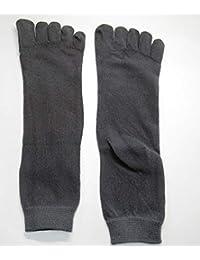 靴下 ソックス 5本指 蒸れない 匂わない ビジネス用 ブラック ダークグレー ネイビー メンズ 3足組 fams001