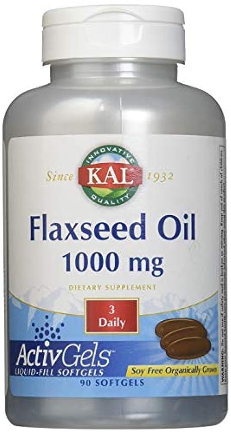 節約するとげデッキフラックスシードオイル(亜麻仁油) 1000mg 90粒[海外直送品]