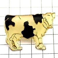 限定 レア ピンバッジ ホルスタイン白黒の牛 ピンズ フランス