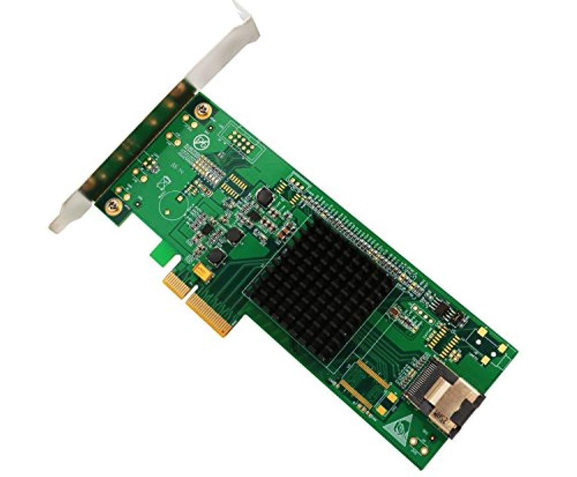 非互換アレルギービールIo Crest sy-pex40096 Fis Port Multiplier 4ポートSATA 6 Gbps PCI - E 2.0カードfor x4スロットSCSIジッタパフォーマンス
