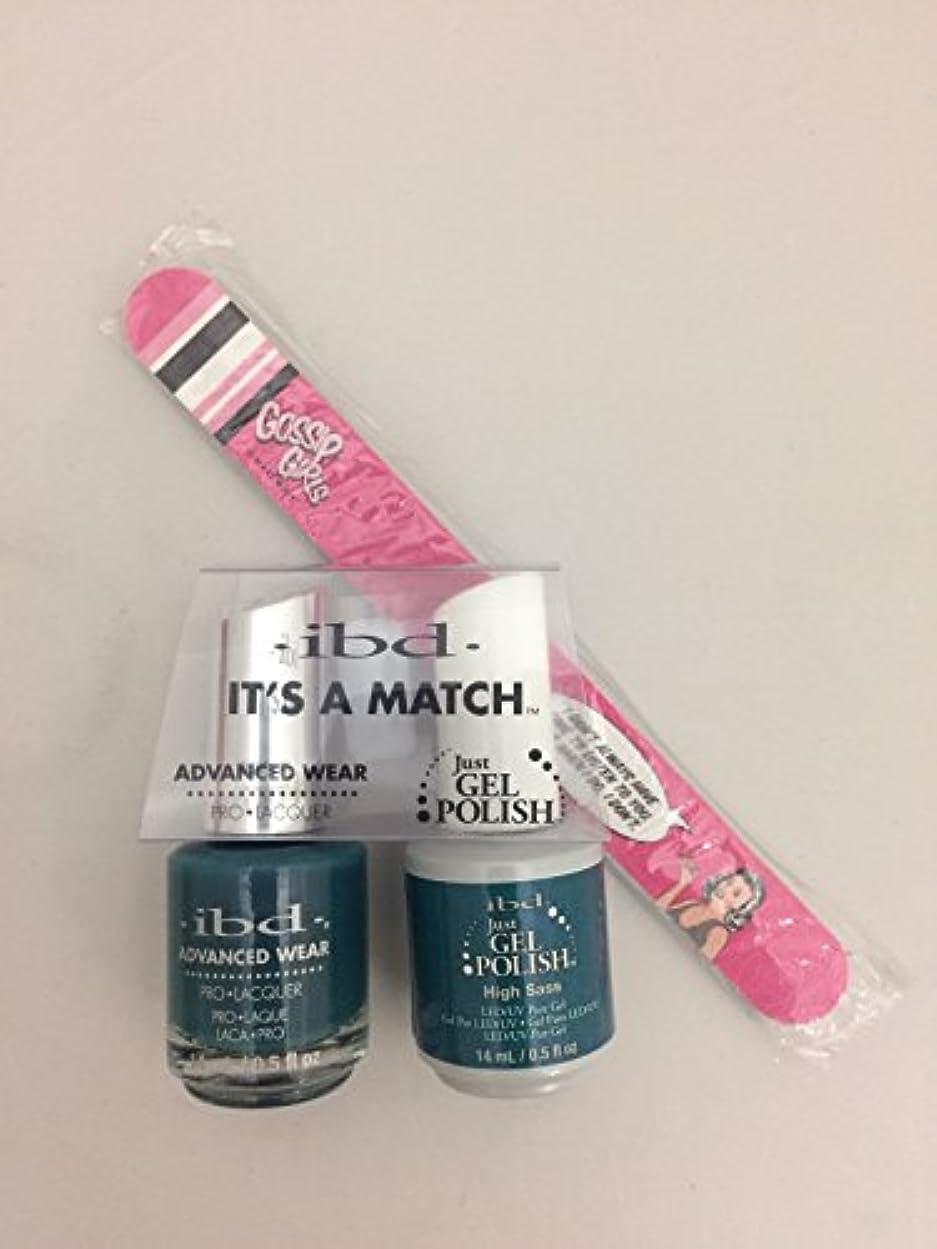 軍団最初娯楽ibd - It's A Match -Duo Pack- Imperial Affairs Collection - High Sass - 14 mL / 0.5 oz Each