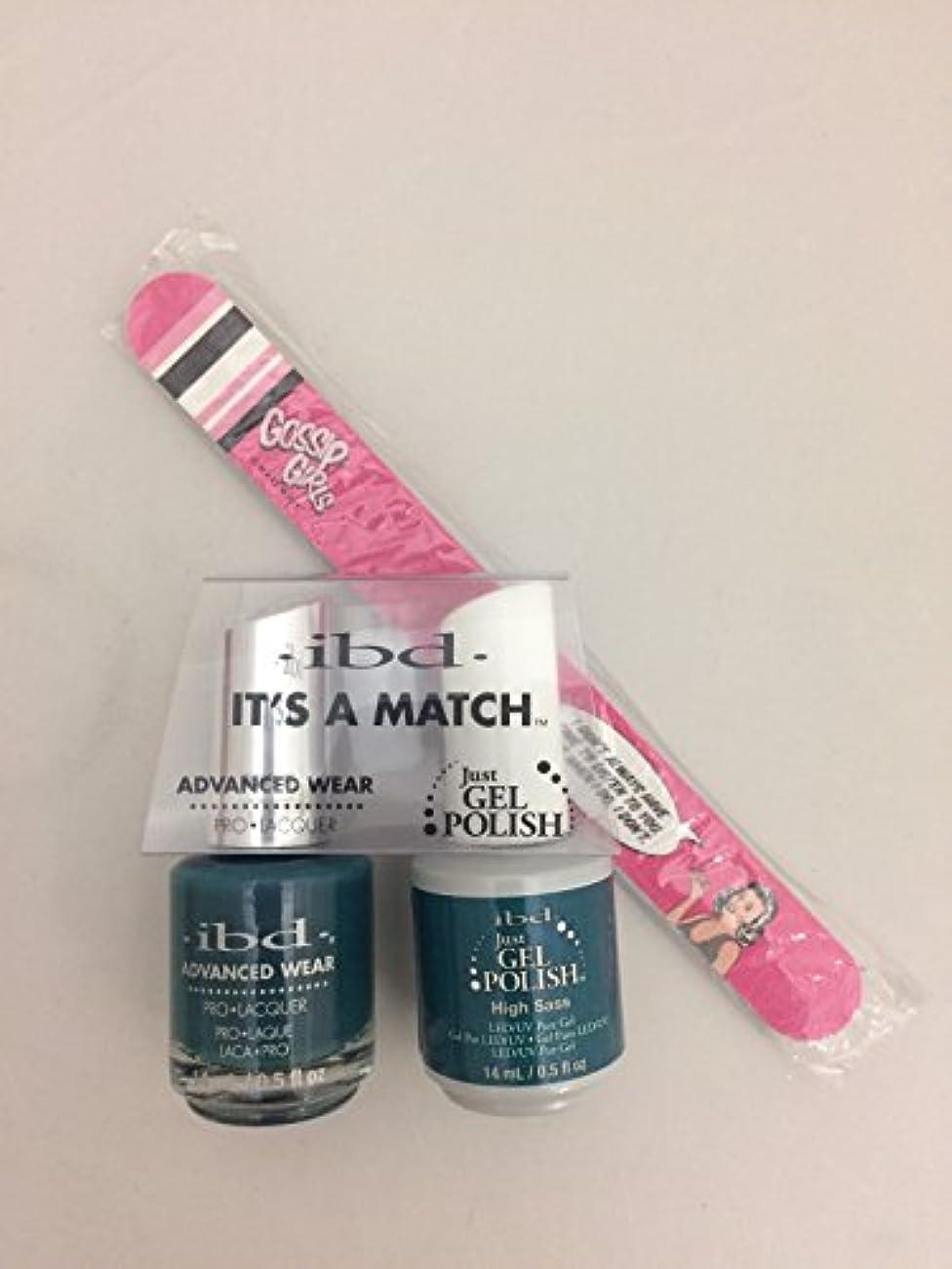 外交倒産勇敢なibd - It's A Match -Duo Pack- Imperial Affairs Collection - High Sass - 14 mL / 0.5 oz Each