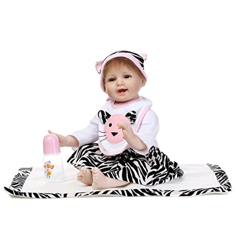 Funny House 55cm リボーンドール ベビードール きせかえ人形 お人形 ドール 新年プレゼント 誕生日プレゼント