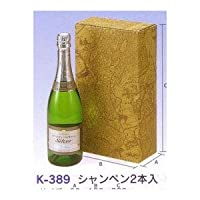 【K-389】 シャンパン 2本筒式 100セット