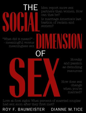 Download The Social Dimension of Sex 0205324428