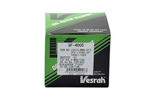 ベスラ(Vesrah) オイルフィルター ホンダ、ヤマハ、カワサキ SF-4005