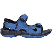 Official Brand Karrimor Antibes Sandals Childs Boys Blue/Black Flip Flop Thongs Beach Shoes
