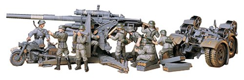 1/35 ミリタリーミニチュアシリーズ ドイツ88ミリ砲
