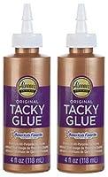 Aleeneのオリジナル「粘着性の高い「glue-4オンス 2-Pack ホワイト