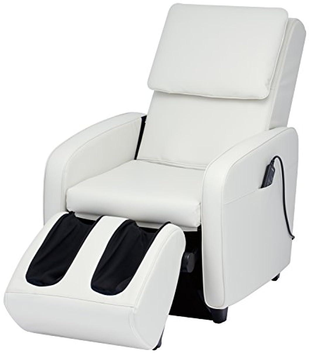 雄弁な連合ボタンスライヴ マッサージチェア くつろぎ指定席 【SFIT エスフィット】 「つかみもみ機能搭載」 ホワイト CHD-7401(W)