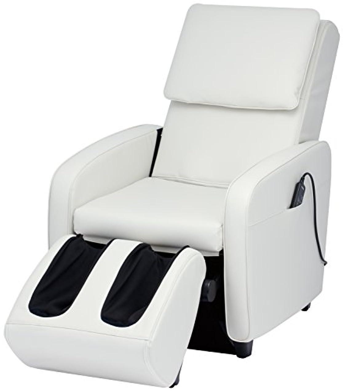 マウスピース十クライアントスライヴ マッサージチェア くつろぎ指定席 【SFIT エスフィット】 「つかみもみ機能搭載」 ホワイト CHD-7401(W)