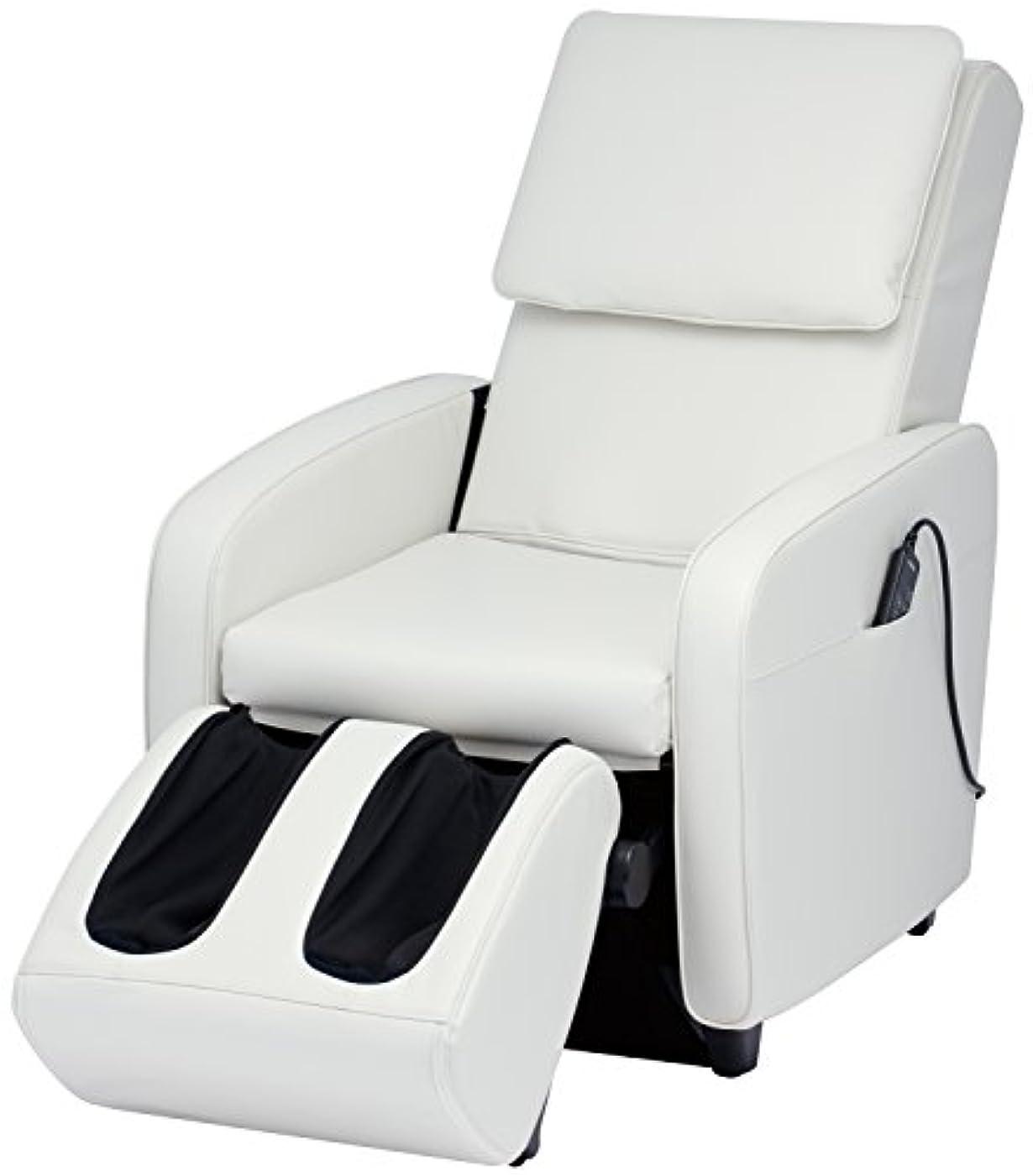 連続的驚小さいスライヴ マッサージチェア くつろぎ指定席 【SFIT エスフィット】 「つかみもみ機能搭載」 ホワイト CHD-7401(W)