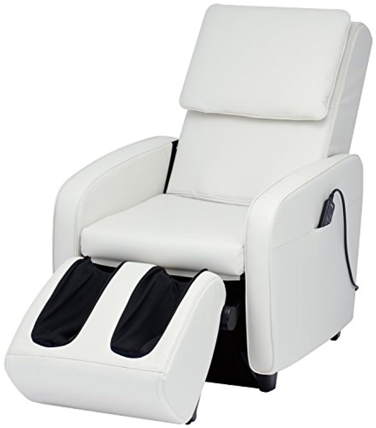 贅沢居住者設計スライヴ マッサージチェア くつろぎ指定席 【SFIT エスフィット】 「つかみもみ機能搭載」 ホワイト CHD-7401(W)