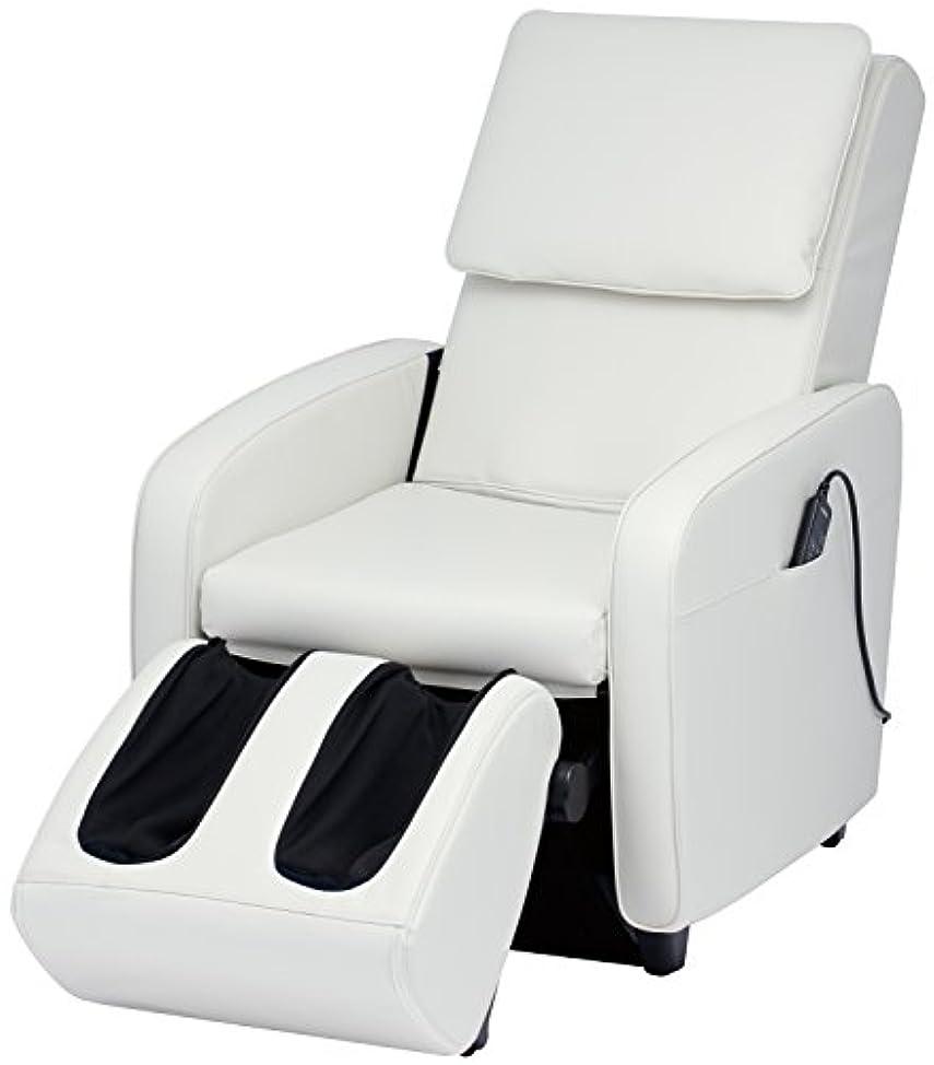 針端末シュートスライヴ マッサージチェア くつろぎ指定席 【SFIT エスフィット】 「つかみもみ機能搭載」 ホワイト CHD-7401(W)