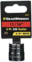 GEARWRENCH 6角ソケット 3/8DR 11/16inch 80357
