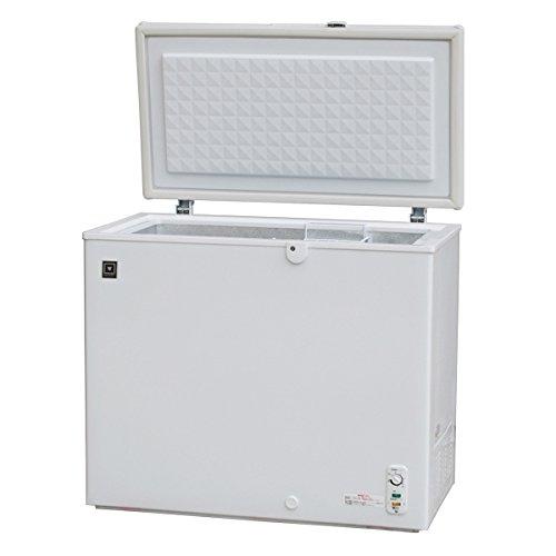 レマコム 冷凍庫 冷凍ストッカー 【急速冷凍機能付】 (210L) RRS-210CNF