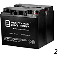 Mighty Maxバッテリー12V 18Ah互換for APC su700X L su700X LNET sua1500–2パックブランド製品
