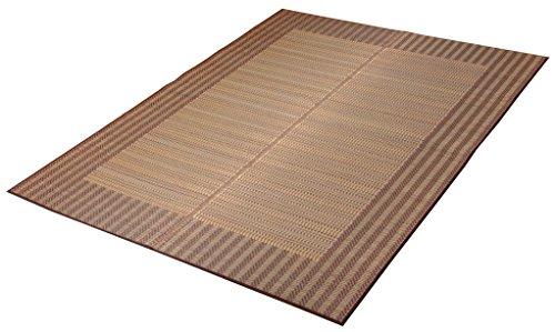 イケヒコ い草ラグ ラグ カーペット 3畳 国産 シンプル モダン 『Fナール』 約191×250cm (裏:ウレタン)
