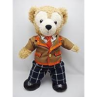 Sサイズ(全長43cm) ダッフィー 衣装 オレンジ色 学生服  コスチューム  hdn35
