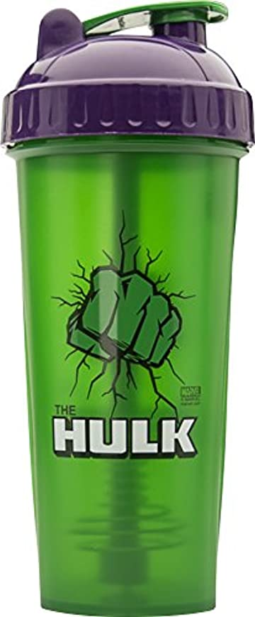 自殺のためにモノグラフPerfectShaker Hero Series Shaker Cup, Hulk, 28 Ounce by PerfectShaker