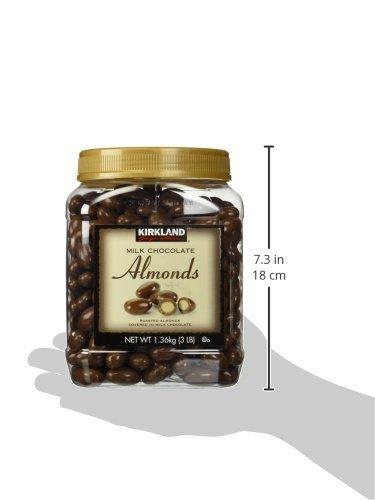 カークランドシグネチャ『ミルクチョコレートアーモンド1.36kg』