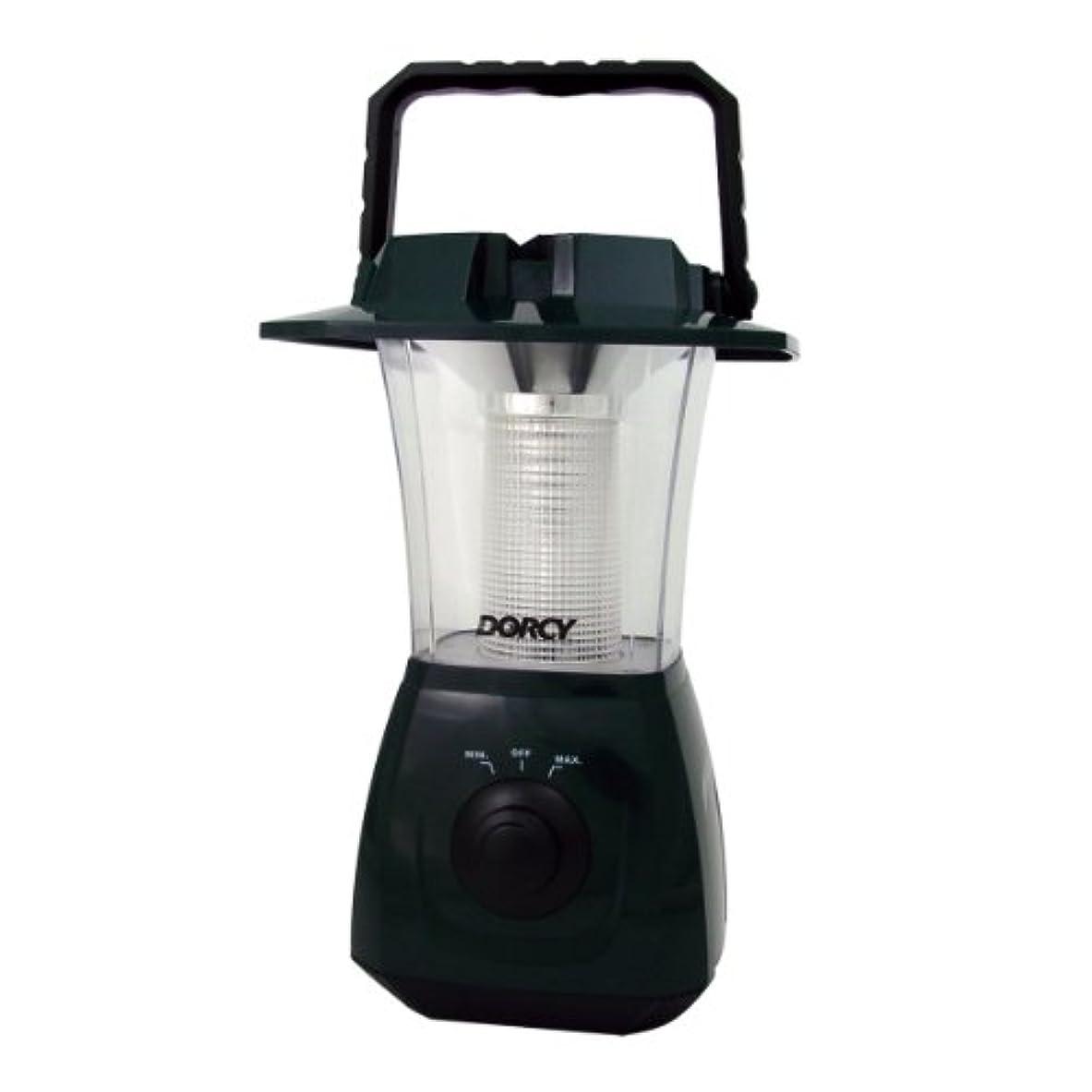 エスニック本質的ではない話すDorcy 41-4268 6 LED Dynamo Lantern AC/DC - Green