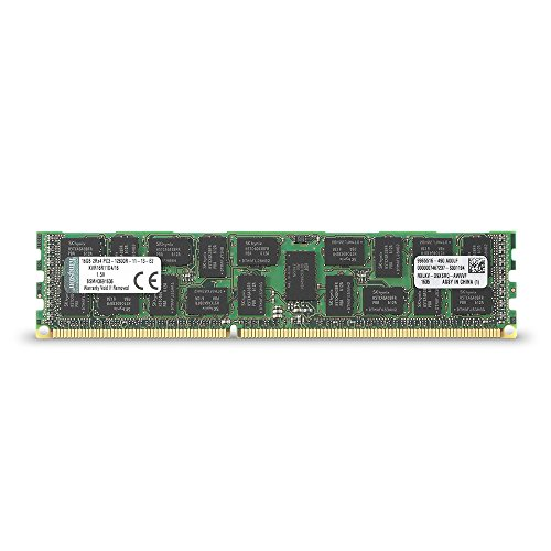 Kingston サーバー用 メモリ DDR3-1600(PC3-12800) 16GB ECC Registered DIMM KVR16R11D4/16 永久保証