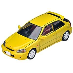 トミカリミテッドヴィンテージ ネオ 1/64 LV-N165a ホンダ シビック タイプR 99年式 黄
