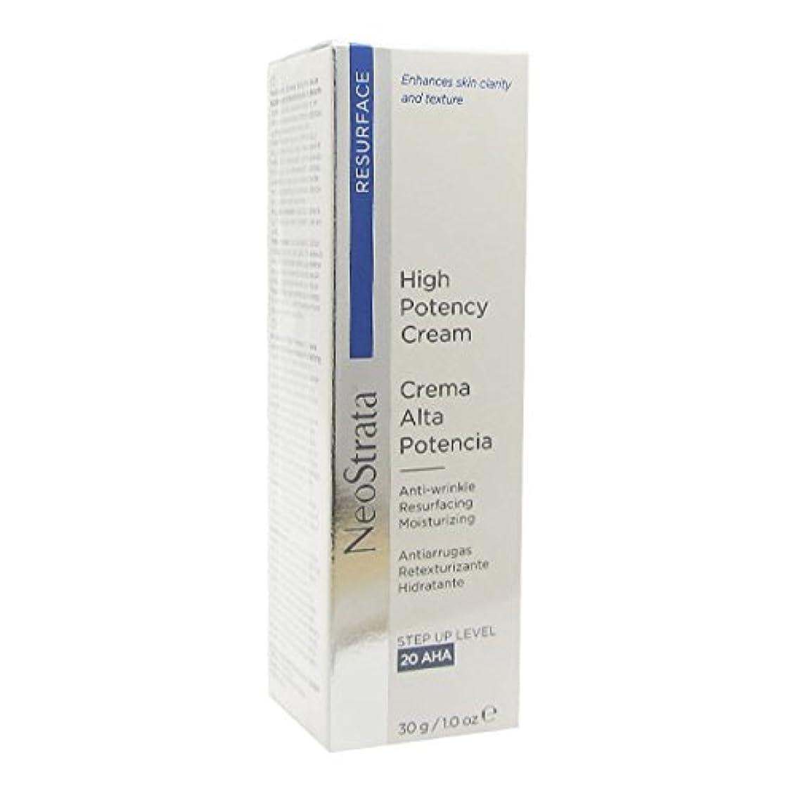 最後のプレゼンター処分したNeostrata High Potency Cream Anti-wrinkle Resurfacing Moisturizing 30g [並行輸入品]