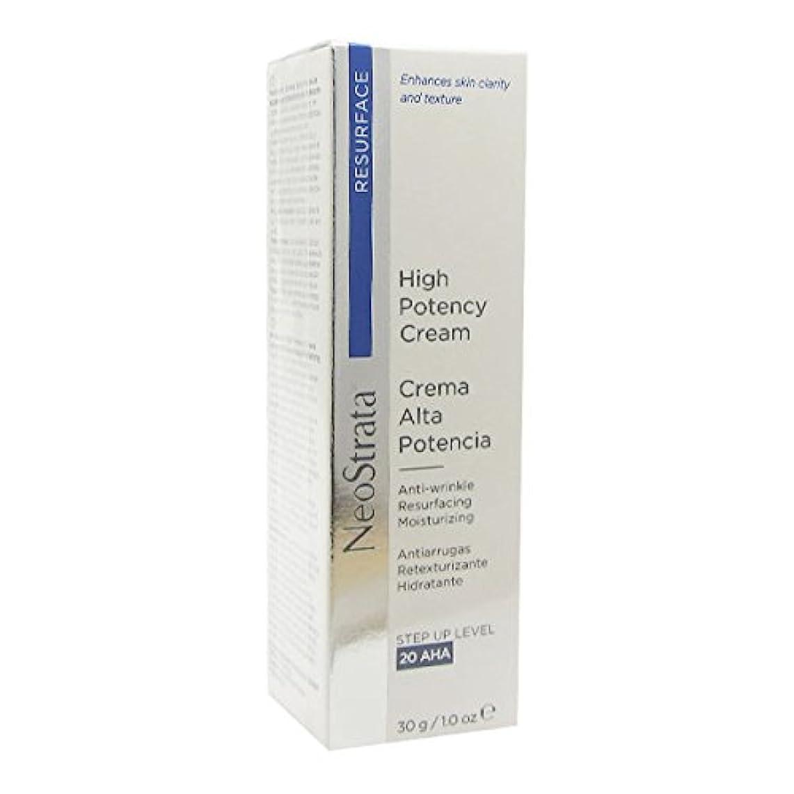 入力金曜日爆弾Neostrata High Potency Cream Anti-wrinkle Resurfacing Moisturizing 30g [並行輸入品]