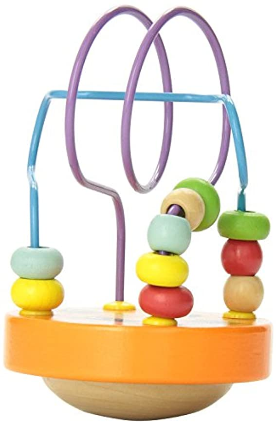 汗沈黙苦しみManhattan Toy Wobble-A-Round Beads, Orange [並行輸入品]