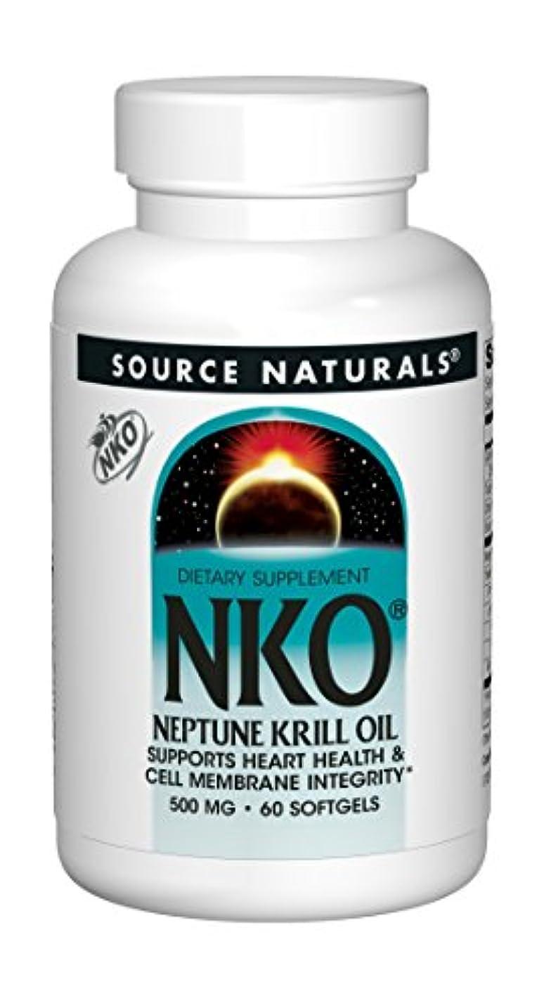 酸度永遠の酸度NKO?ネプチューン?クリル?オイル(500mg) 60錠 海外直送品