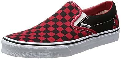 [バンズ] VANS スニーカー Classic Slip-On VN-0EYE36M Black/Formula One Checkerboard(Black/Formula One Checkerboard/7.5)