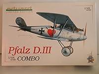 "Eduard Limited Edition 2つキット"" World War IドイツPfalz D。III Aircraft ""プラスチックモデルキット"