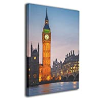 Big Ben Wall Art Decor Poster Artworks Painting Print Artwork For Home Decorations Wall Decor None Frame Ready To Hang 40cmx50cm