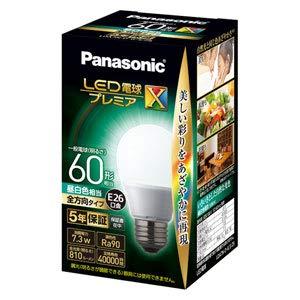 LED電球 一般電球型 810lm (昼白色相当) プレミアX パナソニック(Panasonic) パナソニック LDA7NDGSZ6