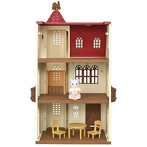 シルバニアファミリー 赤い屋根のエレベーターのあるお家