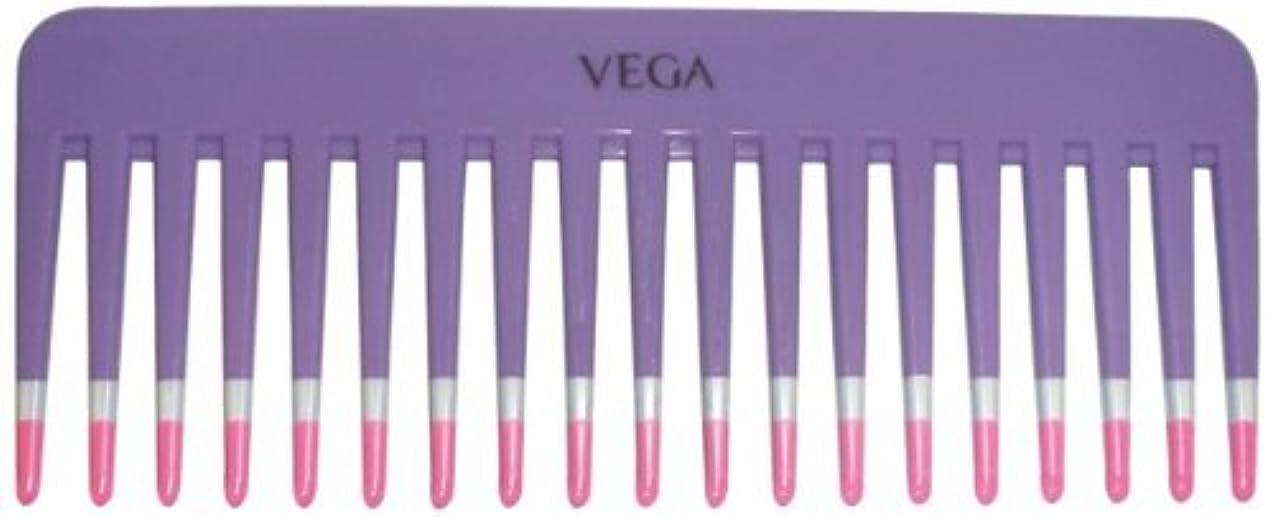 許可する完全に乾く交換可能Vega Shampoo Comb 1268 1 Pcs by Vega Product [並行輸入品]
