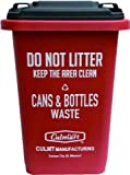 CULTURE MART カルチャーマート ゴミ箱 15L SMALL DUSTBIN (RED) ダストボックス
