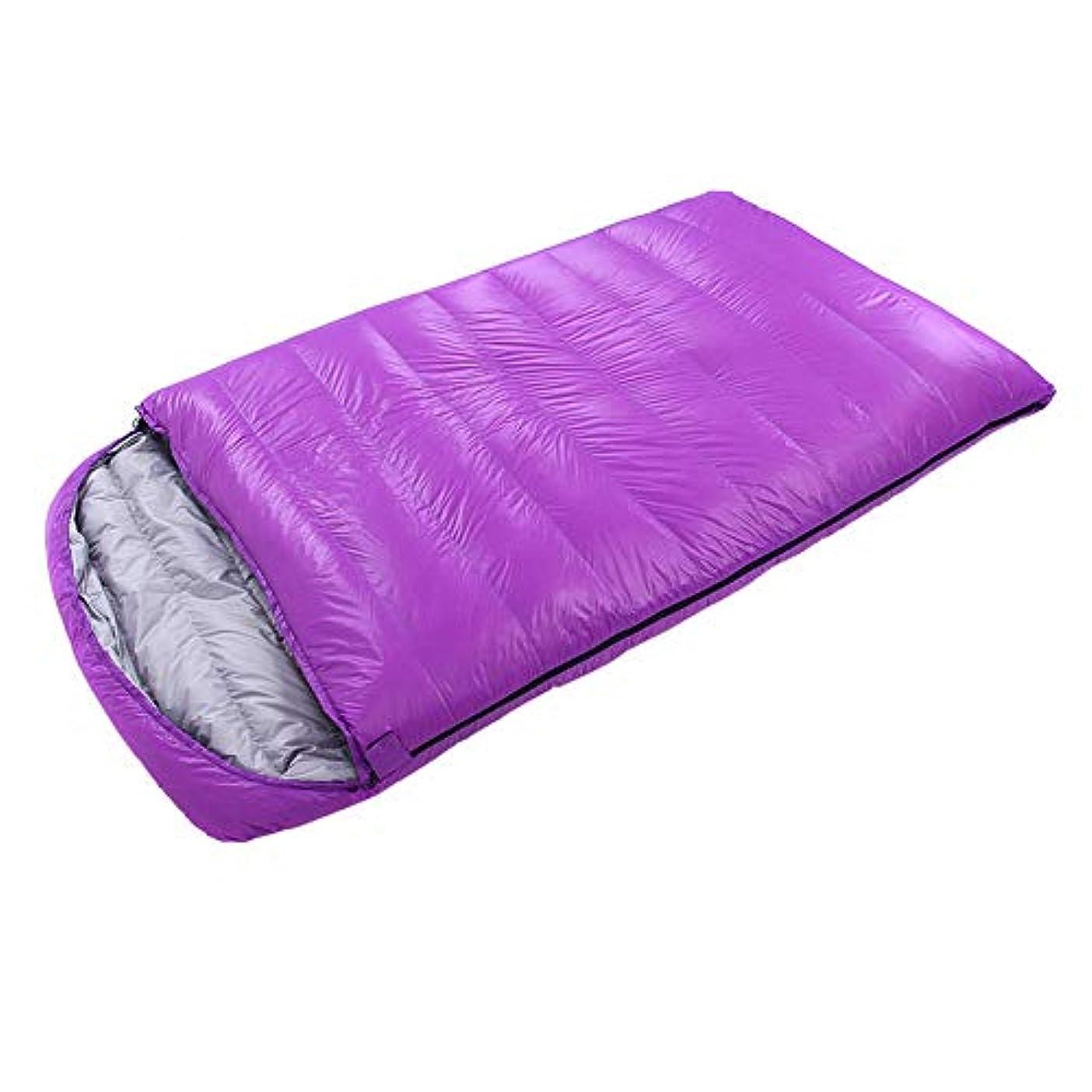 願望充電探す大人の屋外ポータブル大人の寝袋屋内ランチ休憩ハイキングガチョウ寝袋厚い超軽量防水