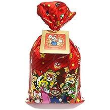 【Amazon.co.jp限定】 ギフトラッピングキット【小】 (BAG仕様:スーパーマリオキャラクター集合ver.)