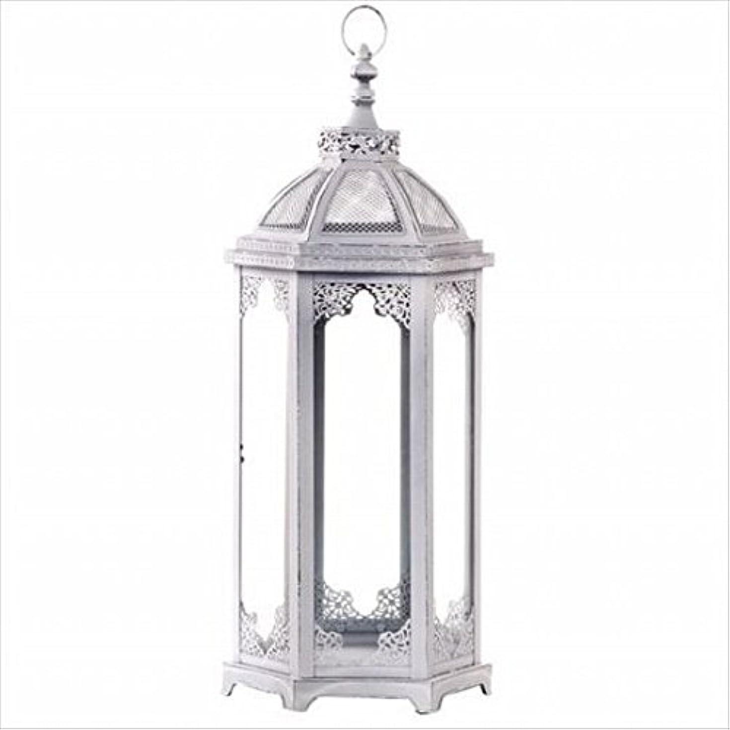 高さバルク慈善kameyama candle(カメヤマキャンドル) アンティークホワイトランタンL(J2100020)