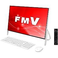富士通 デスクトップパソコン FMV ESPRIMO FHシリーズ WF1/C2 (Windows 10 Home/23.8型ワイド液晶/Core i7/16GBメモリ/約3TB HDD/Blu-ray Discドライブ/Office Home and Business 2016/ホワイト/TV機能付き)AZ_WF1C2_Z768/富士通WEB MART専用モデル