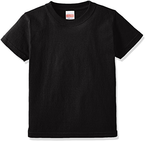 (ユナイテッドアスレ)UnitedAthle 5.6オンス ハイクオリティー Tシャツ 500102 [キッズ] 002 ブラック 130