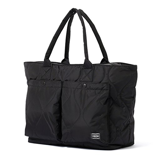 (ヘッド・ポーター) HEAD PORTER | CLAYTON | TOTE BAG (L) (BLACK)