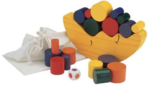 木のおもちゃ 知育玩具 お月さまバランスゲーム