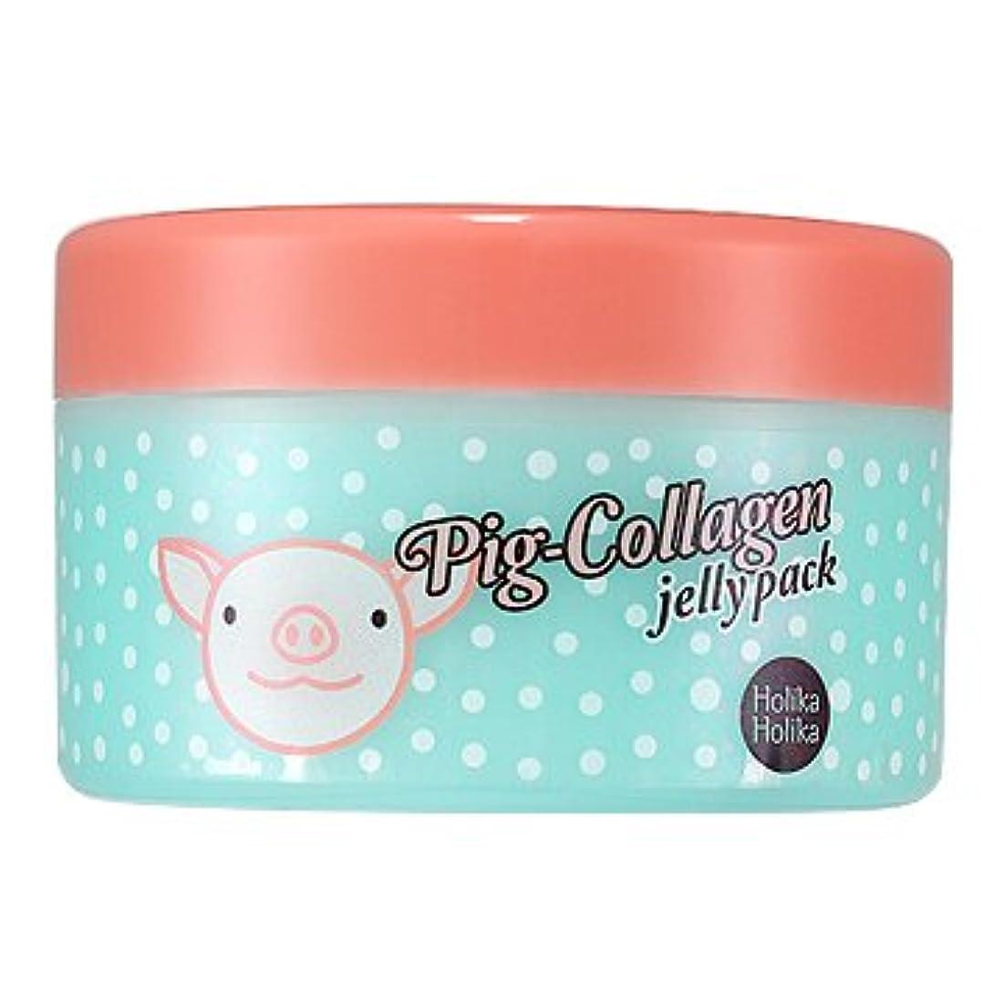絞るロッジすすり泣きホリカホリカ ピッグコラーゲンジェリーパック(リンクルケア) / HolikaHolika Pig Collagen Jelly Pack 80g [並行輸入品]