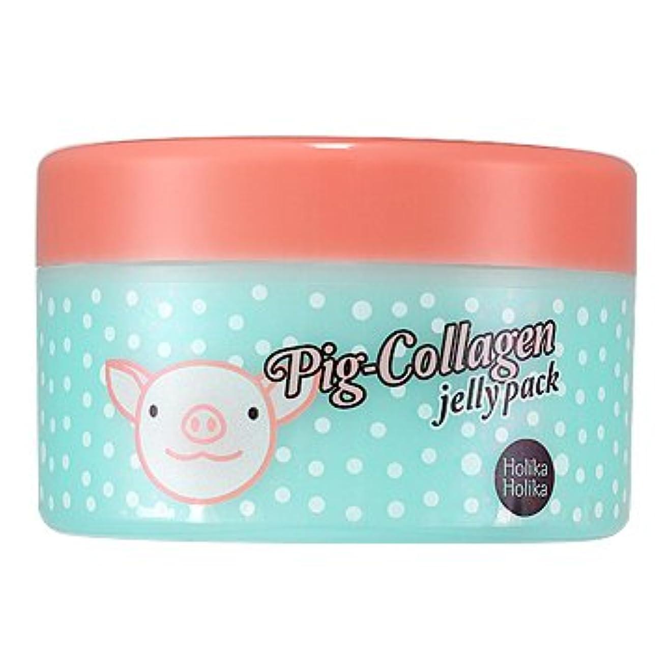 遺体安置所ねばねば主にホリカホリカ ピッグコラーゲンジェリーパック(リンクルケア) / HolikaHolika Pig Collagen Jelly Pack 80g [並行輸入品]